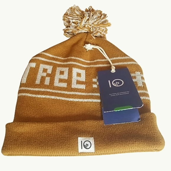 NWT 10Tree Winter Hat/Beanie Golden Brown One Size